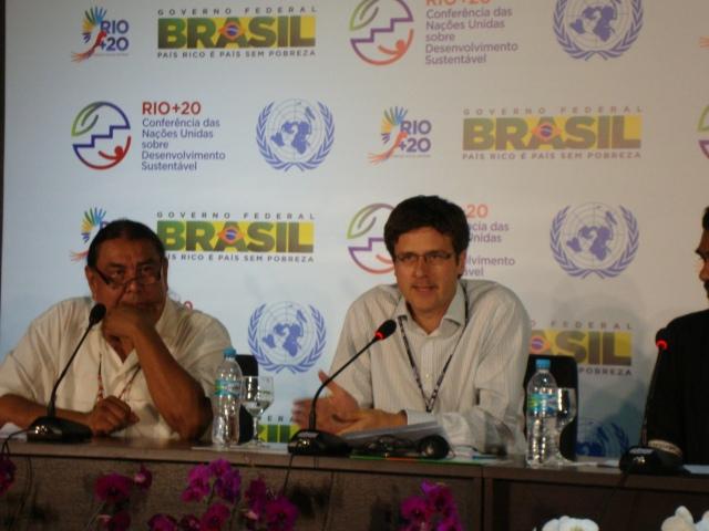 """Stephen Hale (dir.), diretor de campanhas e políticas internacionais da ONG Oxfam International: """"A Rio+20 será vista como um encontro falso."""" Foto Antonio Carlos Teixeira"""