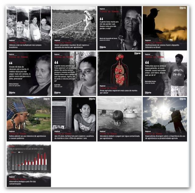 Viúvas do Veneno - Facebook Diário Nordeste 2013