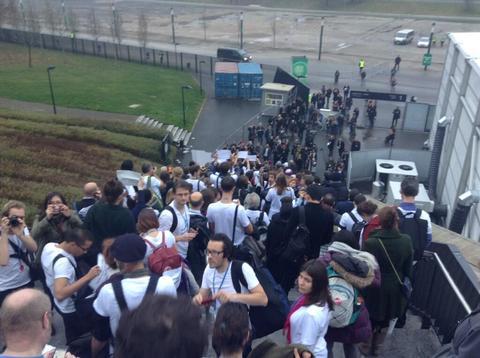 COP 19, Varsovia: ONGs y Movimientos Sociales abandonan las negociaciones - Photo by cc_moreno@yahoo.com