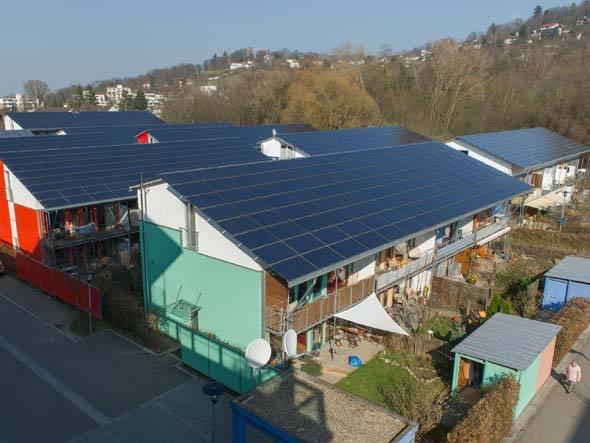 Energia solar na Alemanha. Foto: Getty Images