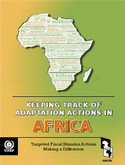 Africa Adapt Climate Change - Capa Relatório Africa Adaptations Actions