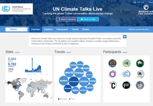 UN Climate Talks Live