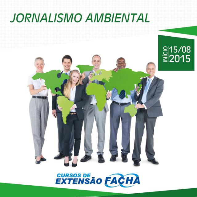 FACHA Logo Curso de Extensão Agosto 2015 - Jornalismo Ambiental - Antonio Carlos Teixeira