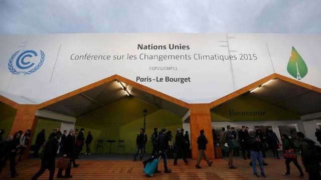 cop 21 Participantes chegam para a Conferência do Clima em Paris, França, que reunirá mais de 190 países. Reuters