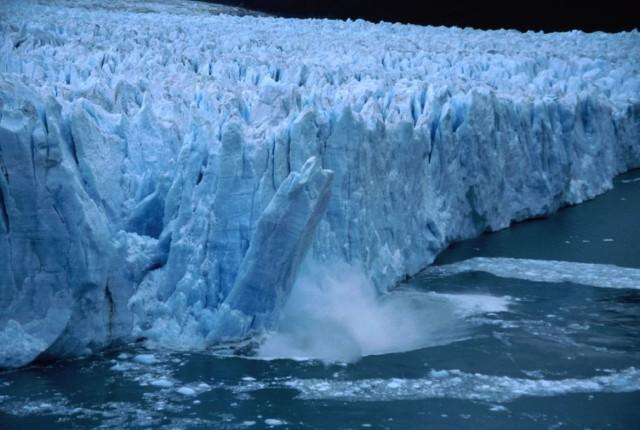 derretimento de geleiras Foto wikimedia commons